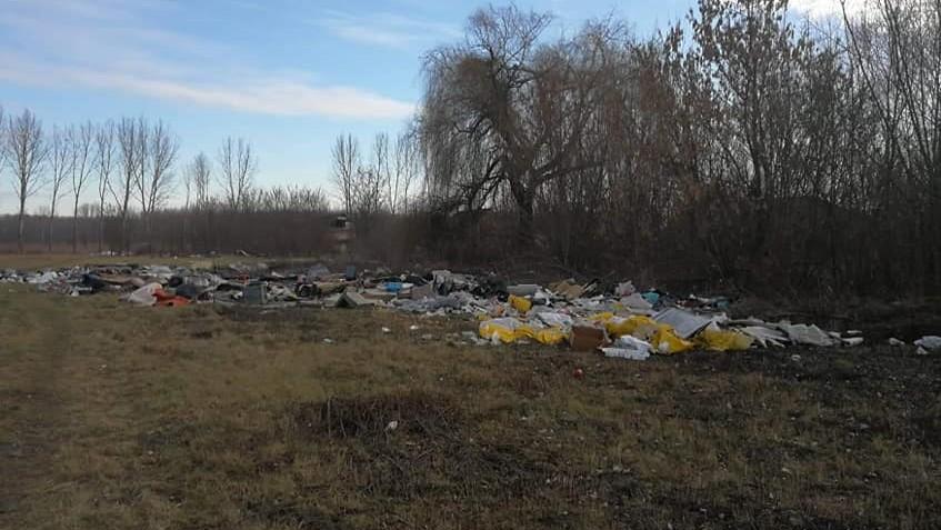 Újabb illegális hulladéklerakót számolt fel a Kövál