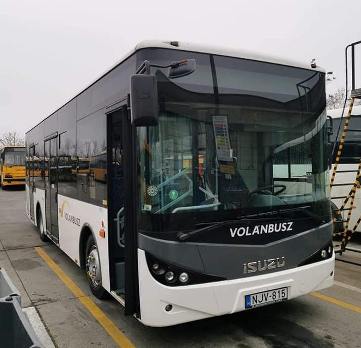 Kisebb busszal teljesíti a Volánbusz a helyi járatot