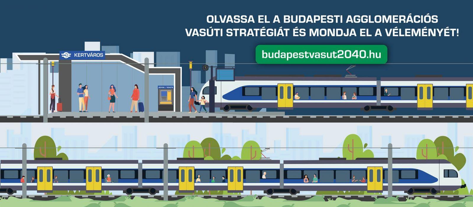 Budapesti agglomerációs vasúti stratégia