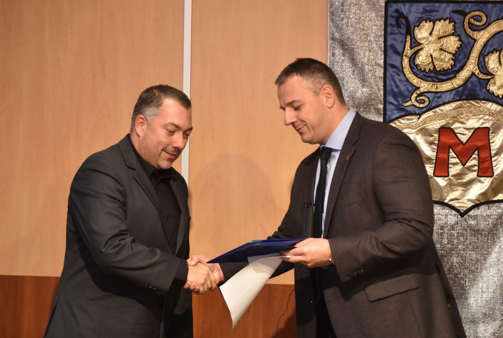 A Monori Rendőrkapitányság alezredese kapta a Monor Közbiztonságáért Díjat