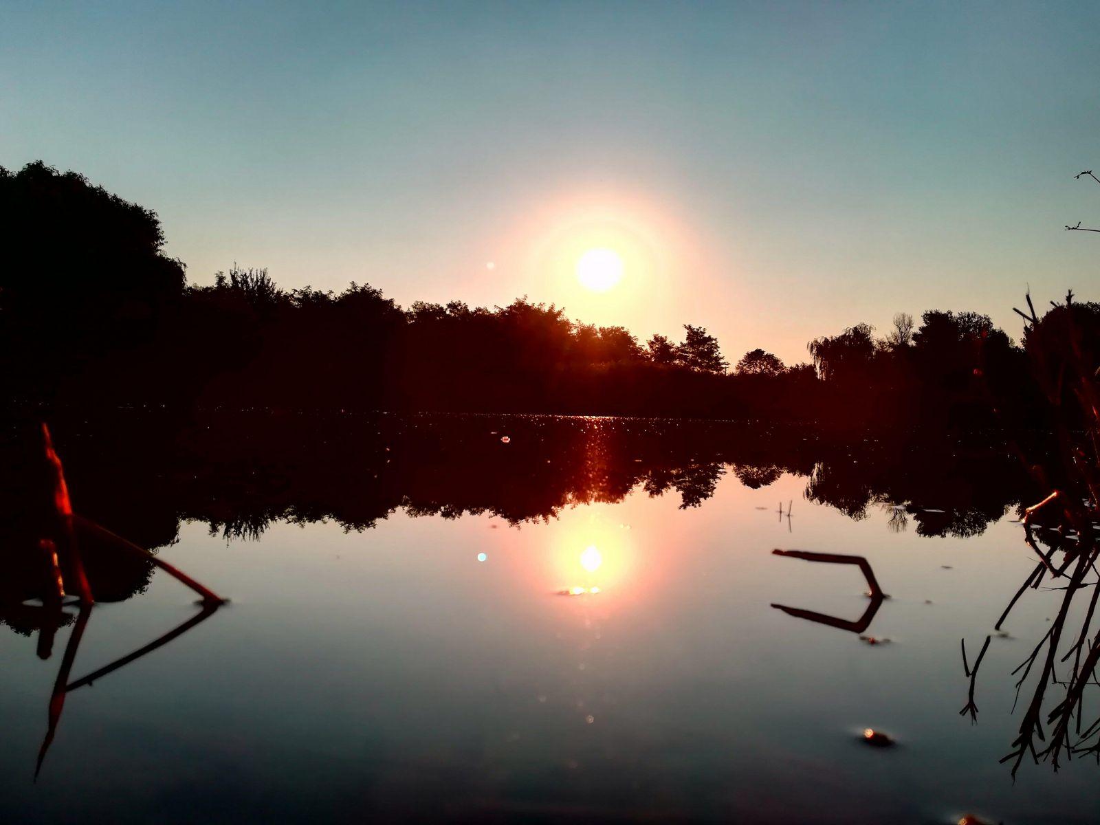 A hónap képe - Készítette: Derűs reggel a Kis-tónál