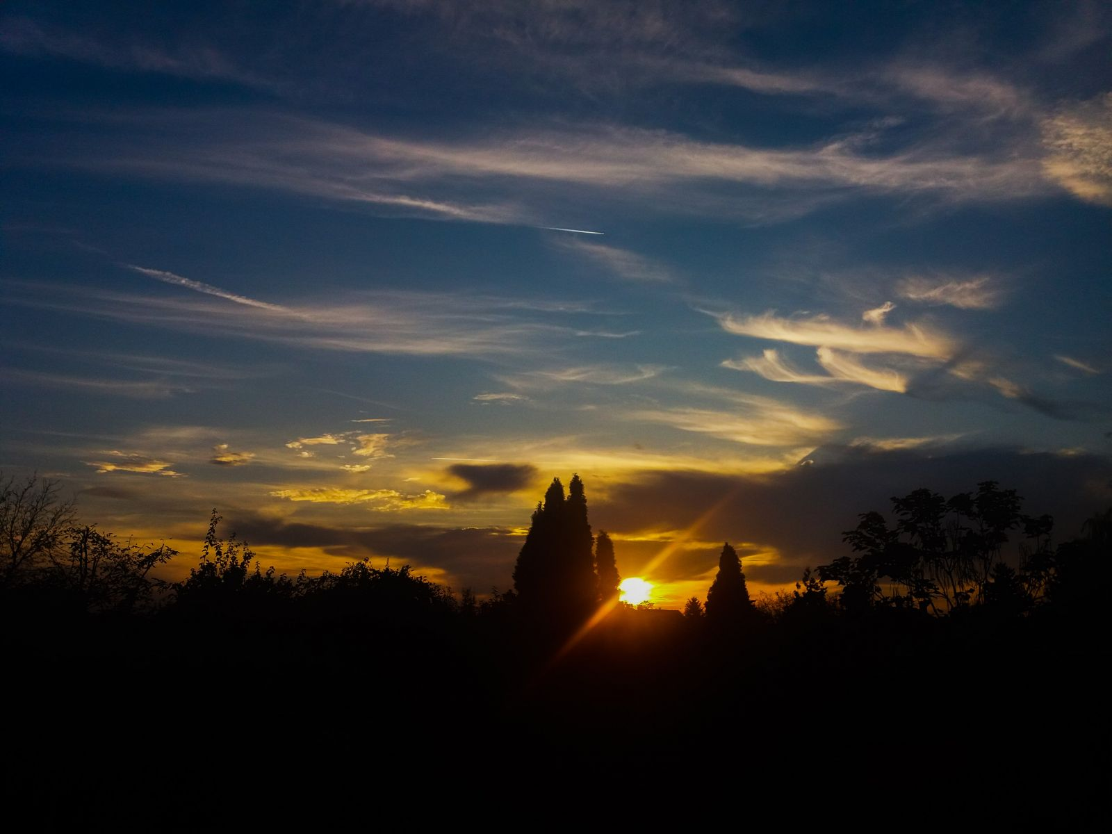 A hónap képe - Készítette: Tavaszi naplemente