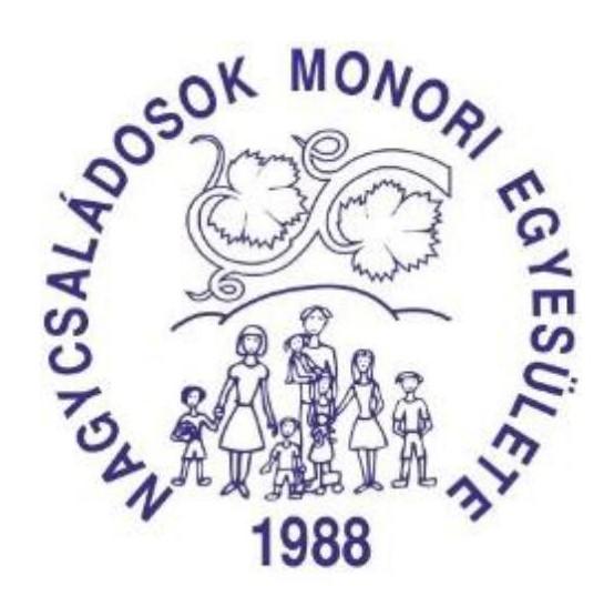 Vásárlásával a Nagycsaládosok Monori Egyesületét támogathatja