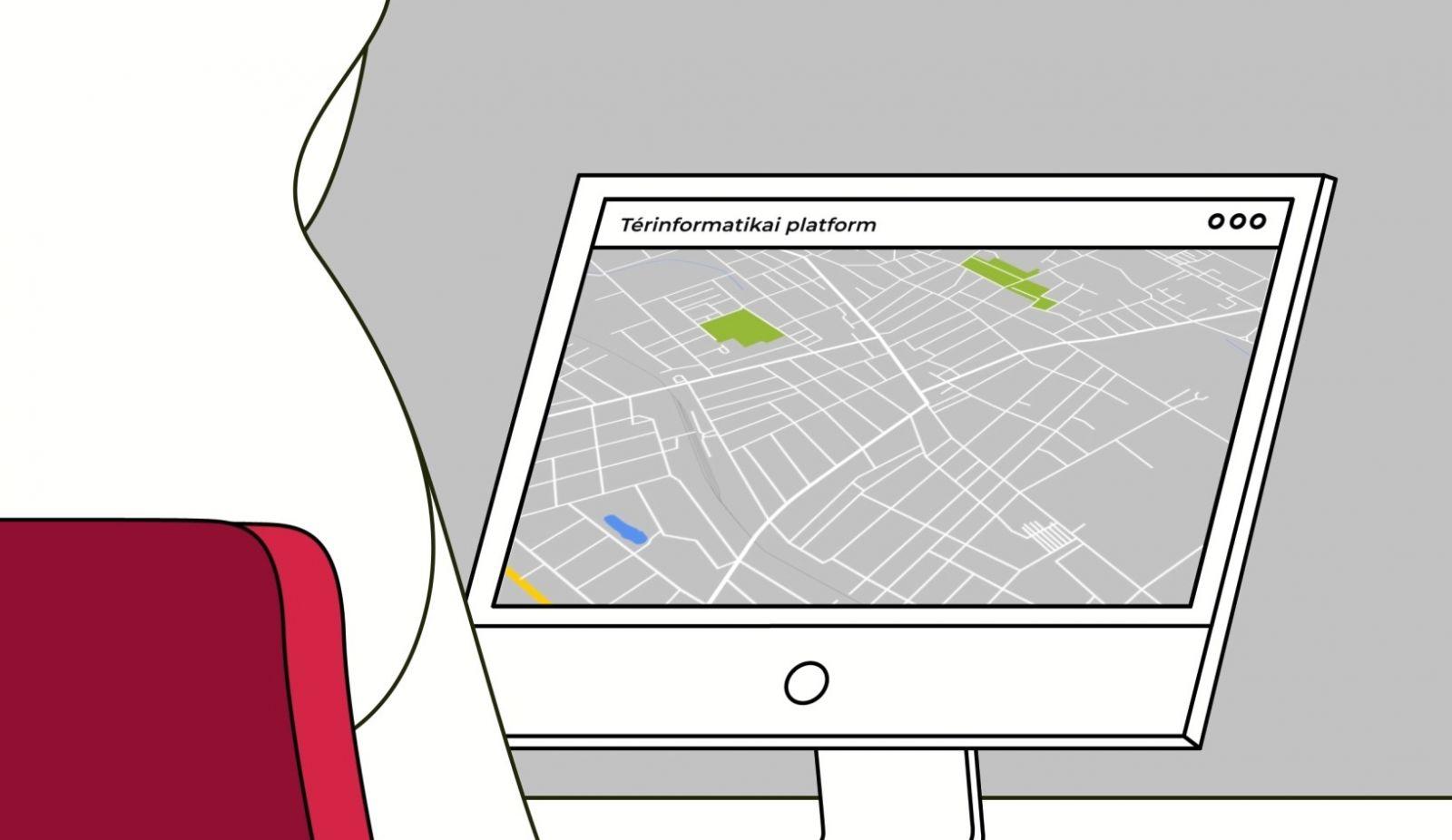 Hatékony térinformatikai rendszer épül ki az Okos Város program keretében