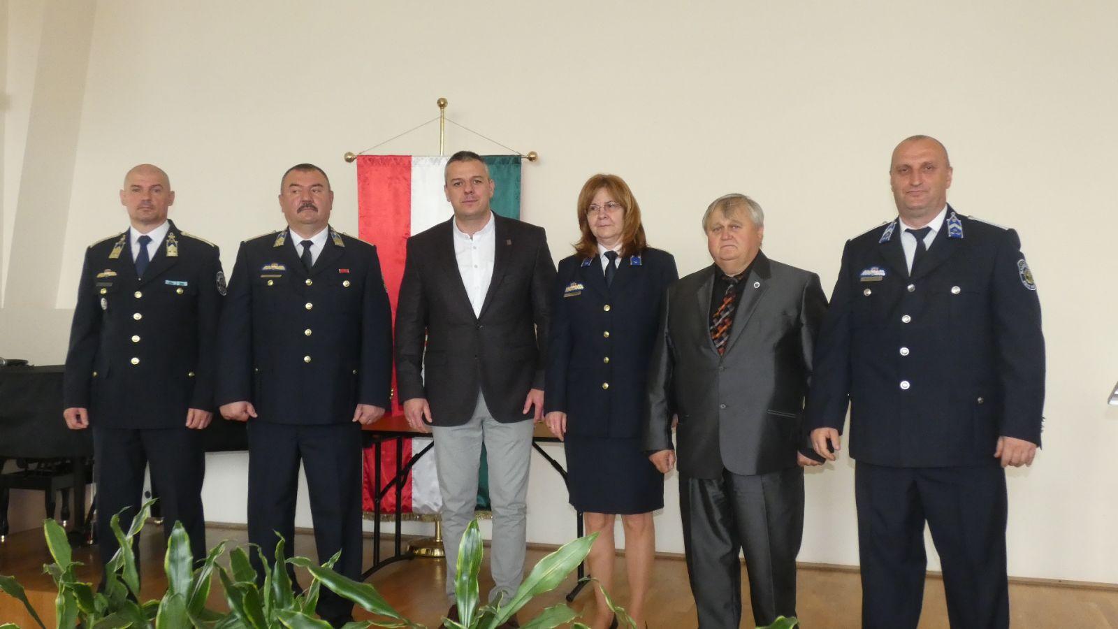 Ünnepi állománygyűlést tartottak a monori rendőrök