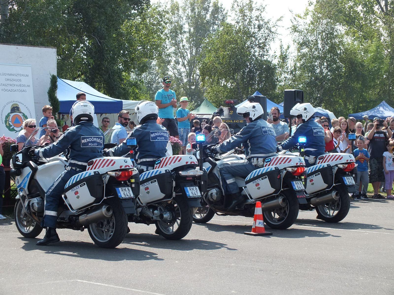 Nyílt napot tartottak a monori rendőrök