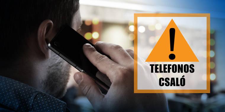 Telefonos csalók módszereire figyelmeztetnek a rendőrök