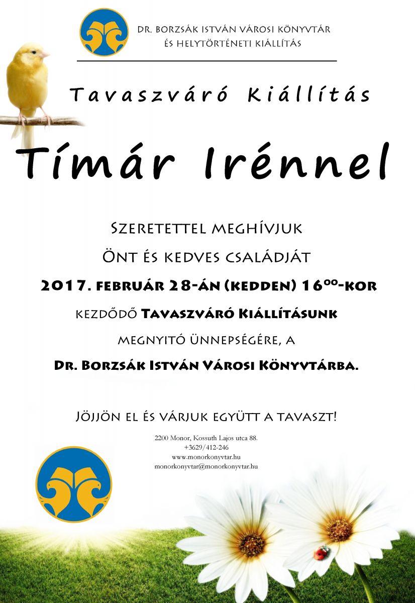 Tavaszváró kiállítás