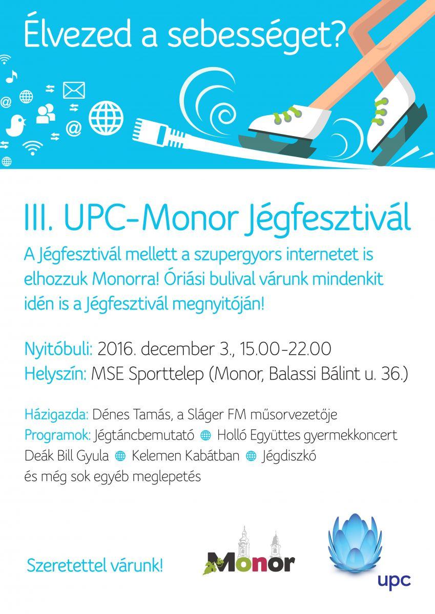 December 3-án újra UPC-Monor Jégfesztivál!