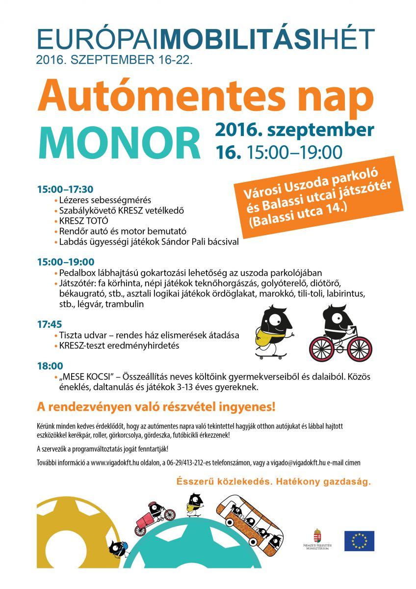 Újabb programokban gazdag hétvége várja az érdeklődőket Monoron
