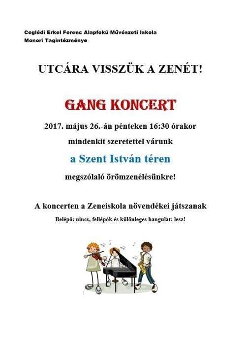 GANG koncert