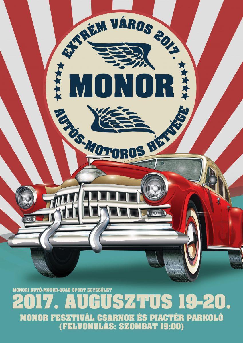 Extrém Város Monor autós-motoros hétvége