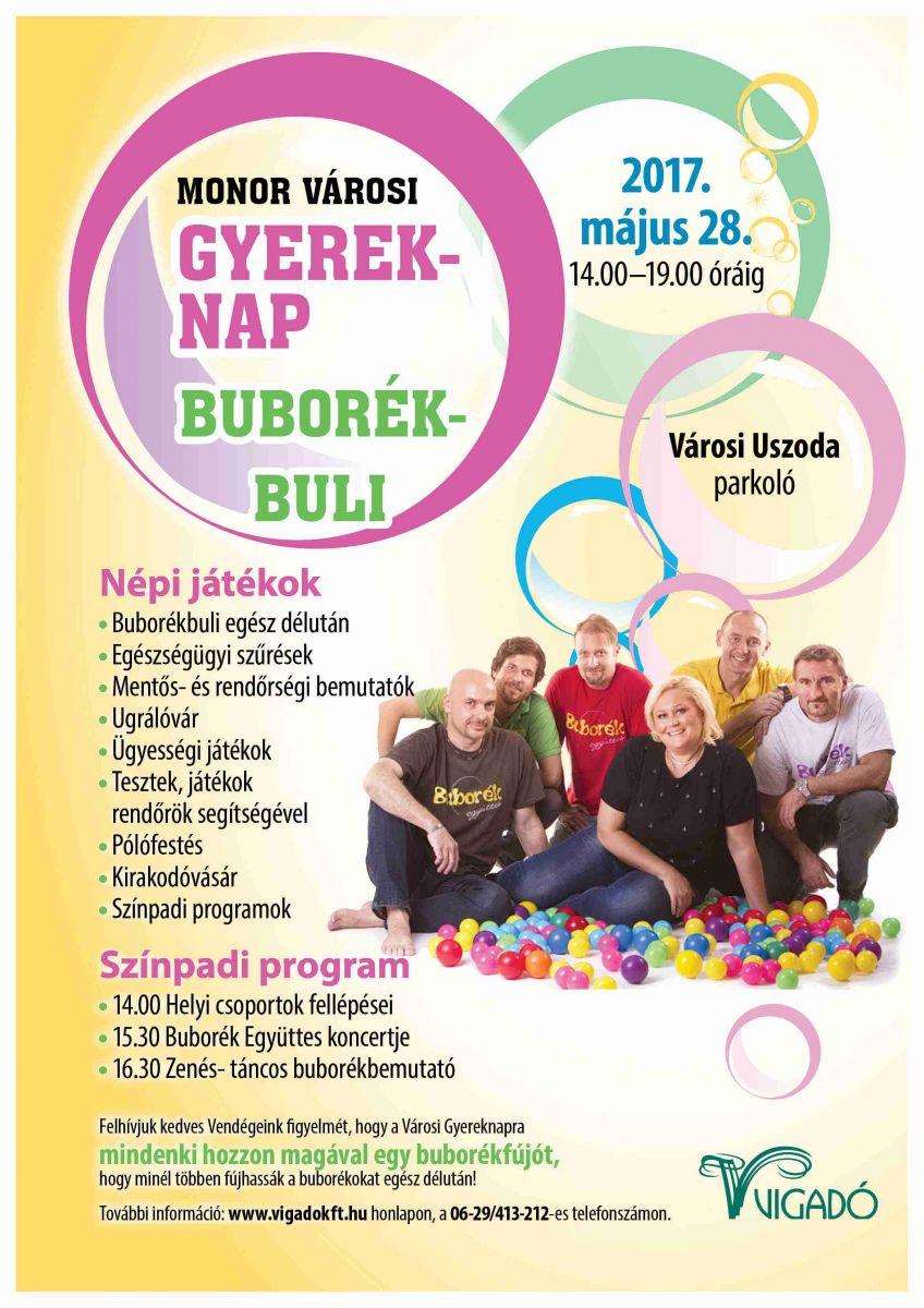 Buborék Buli - Városi gyereknap