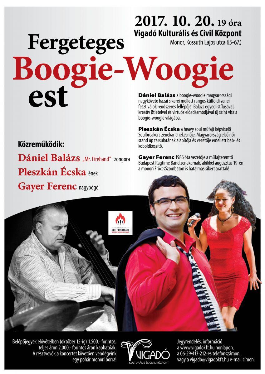 Fergeteges Boogie-Woogie est