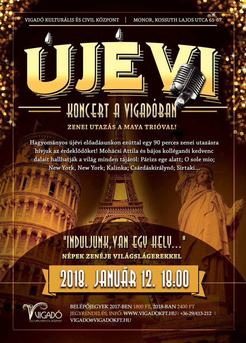 Újévi koncert a Vigadóban!