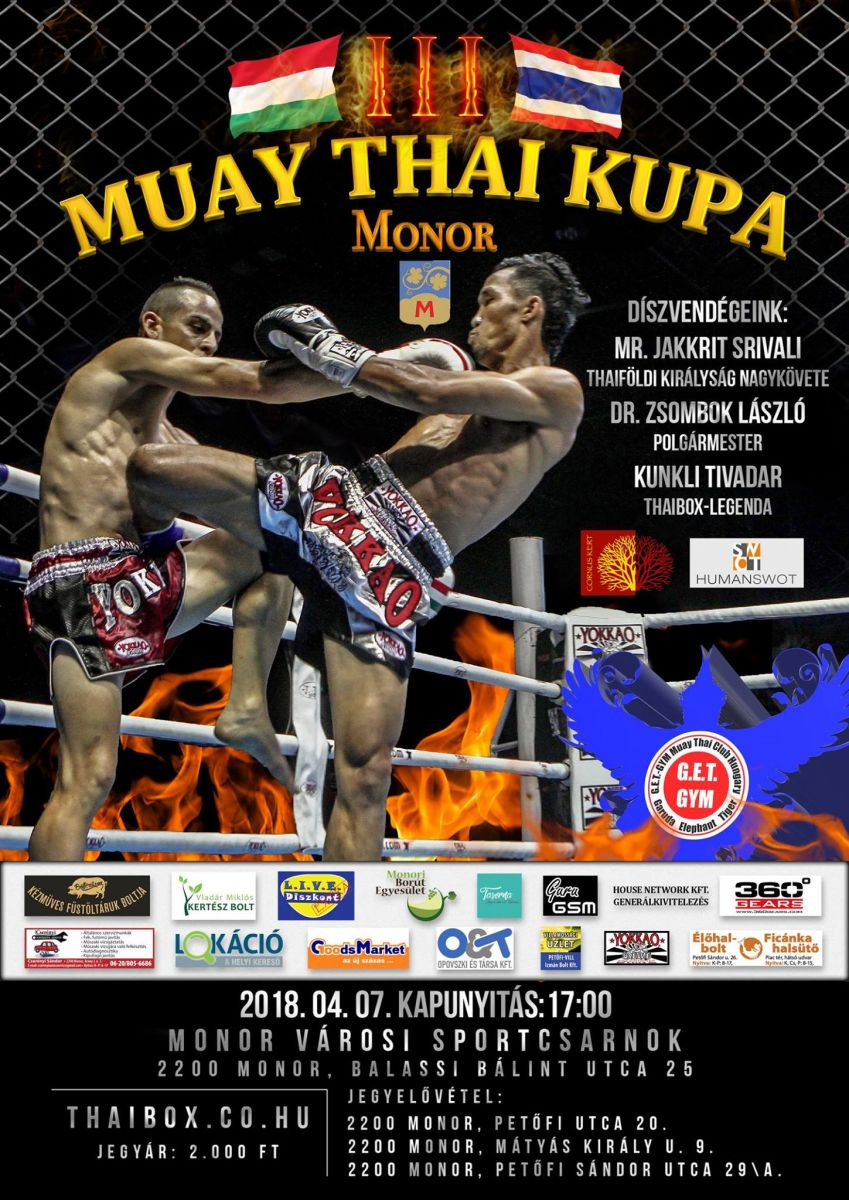Muay thai kupa