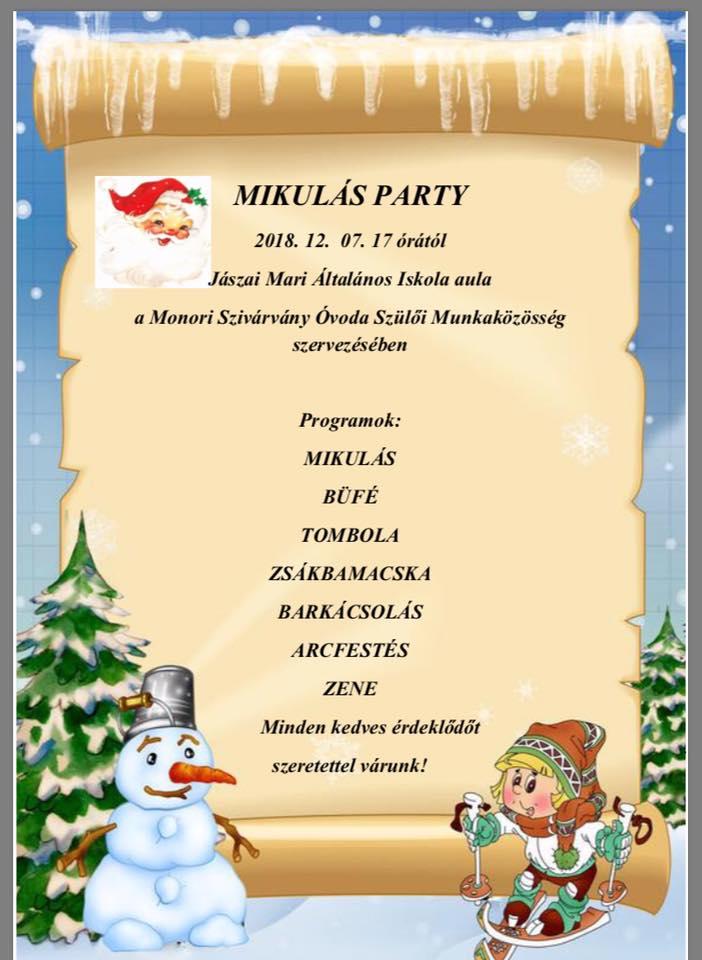 Mikulás parti