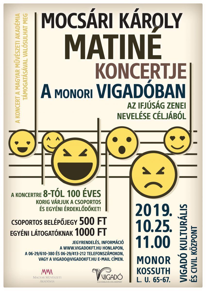 Mocsári Károly koncertje