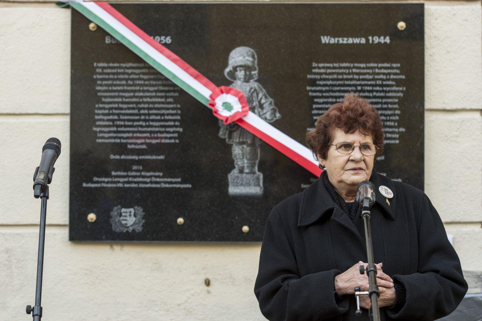 Wittner Máriával emlékezünk a kommunizmus áldozataira