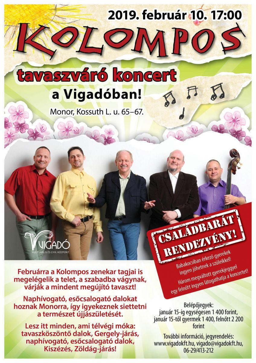 Kolompos tavaszváró koncert