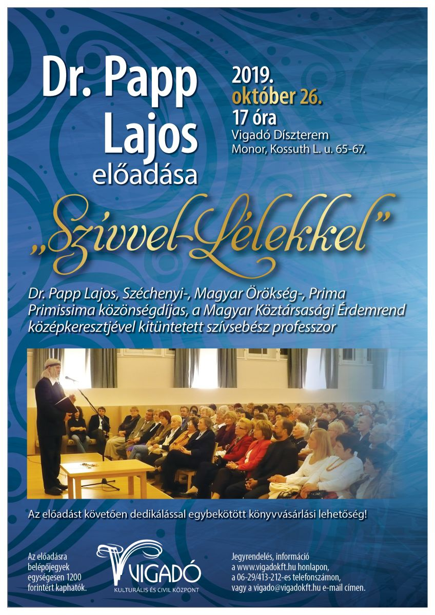 Dr. Papp Lajos előadása
