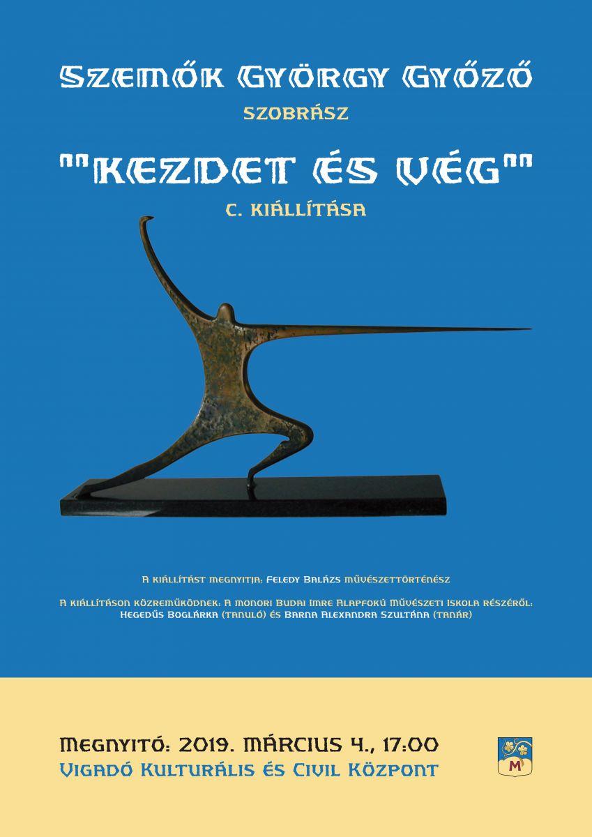 Szemők György Győző szobrászművész kiállításának megnyitója