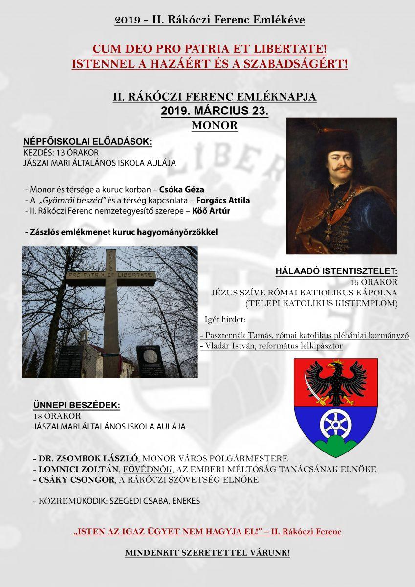 II. Rákóczi Ferenc Emléknapja