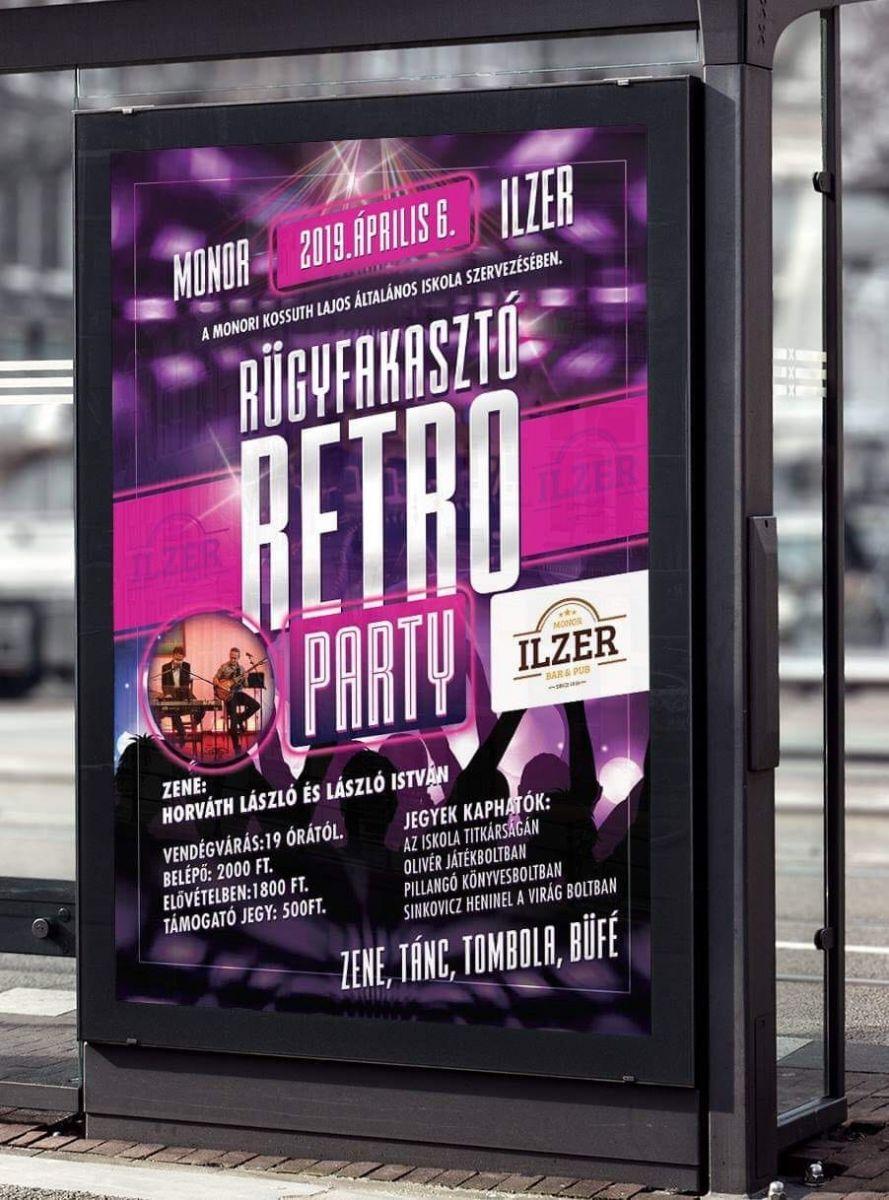 Rügyfakasztó Retro Party