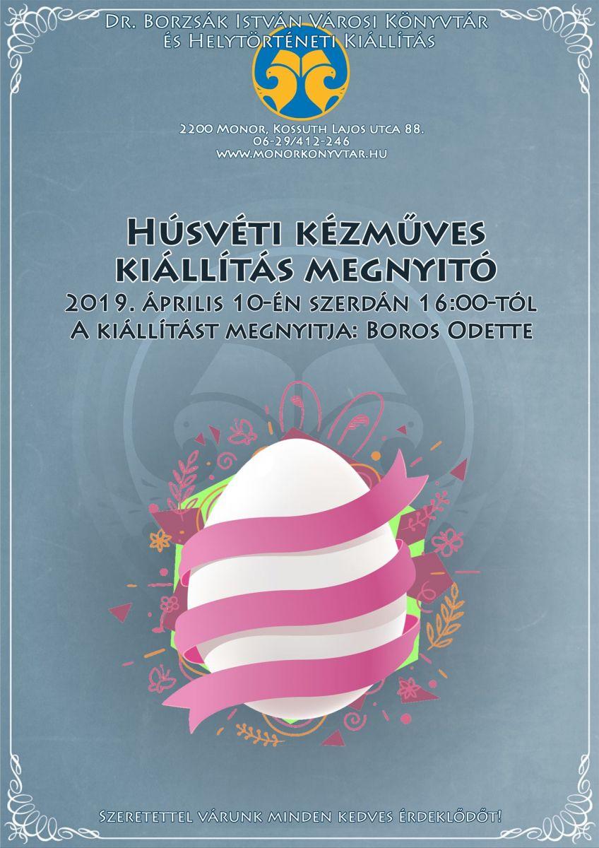 Húsvéti kézműves kiállítás