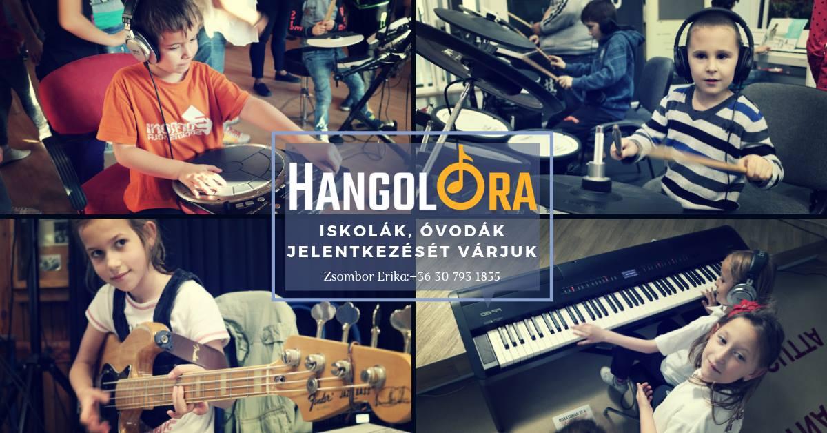 HangolÓra a Monori Zeneiskolában