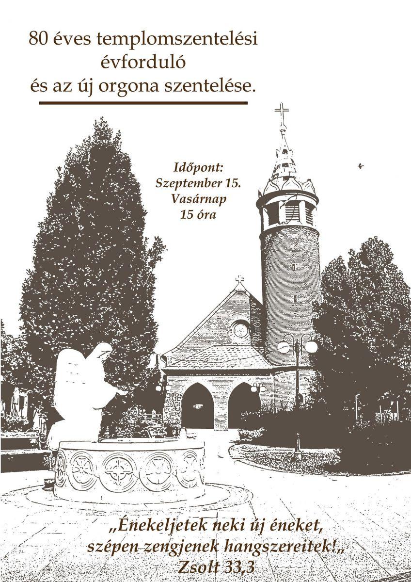 Monori Evangélikus Egyházközség templomszentelési évforduló ünnepi hálaadás
