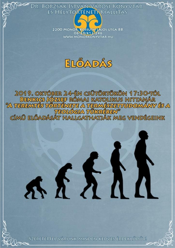 A teremtés története a természettudomány és a teológia tükrében