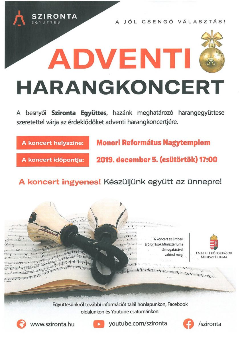 Adventi harangkoncert