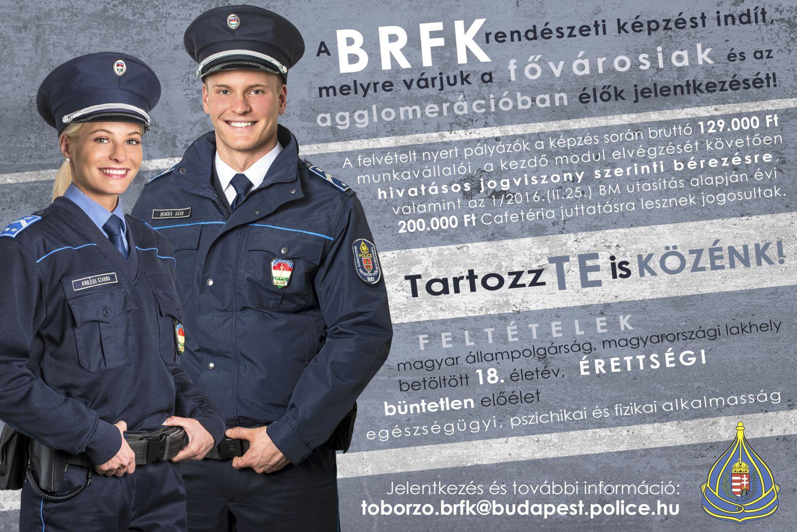 Monorról is várja pályakezdő fiatalok jelentkezését a Budapesti Rendőr-főkapitányság