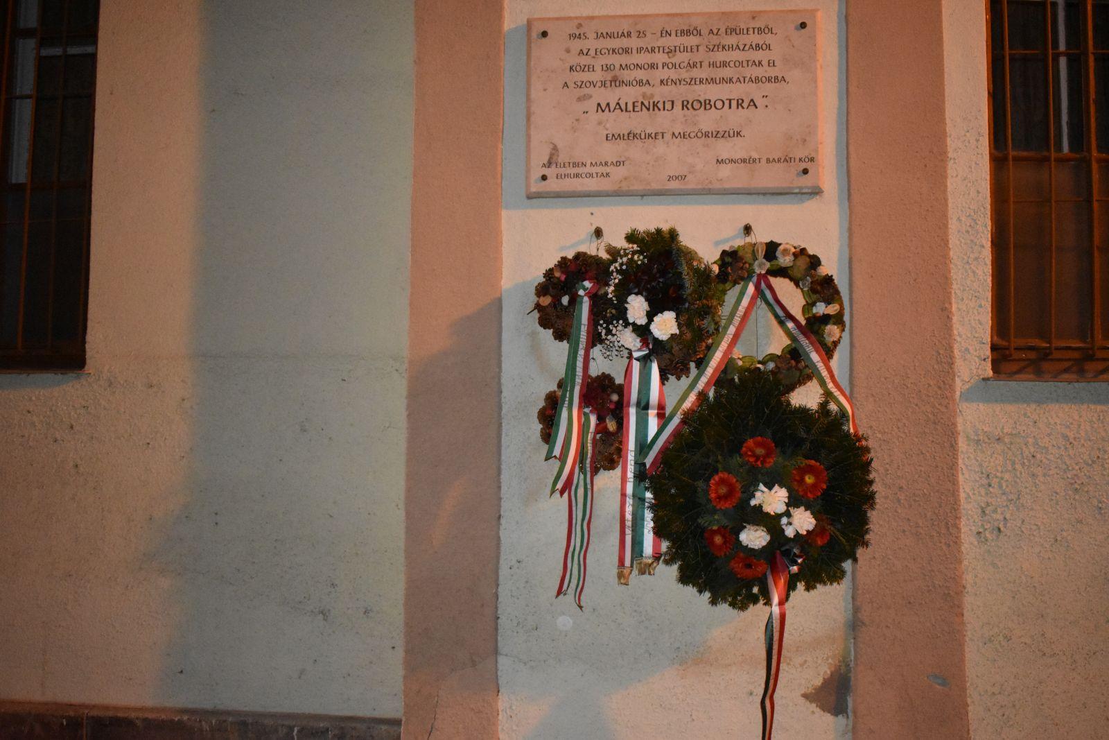 Megemlékezés a Kommunista Diktatúra Áldozatainak emléknapja alkalmából