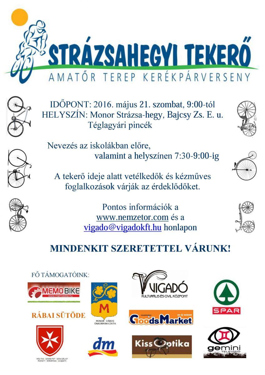 Strázsahegyi Tekerő - amatőr terep-kerékpárverseny