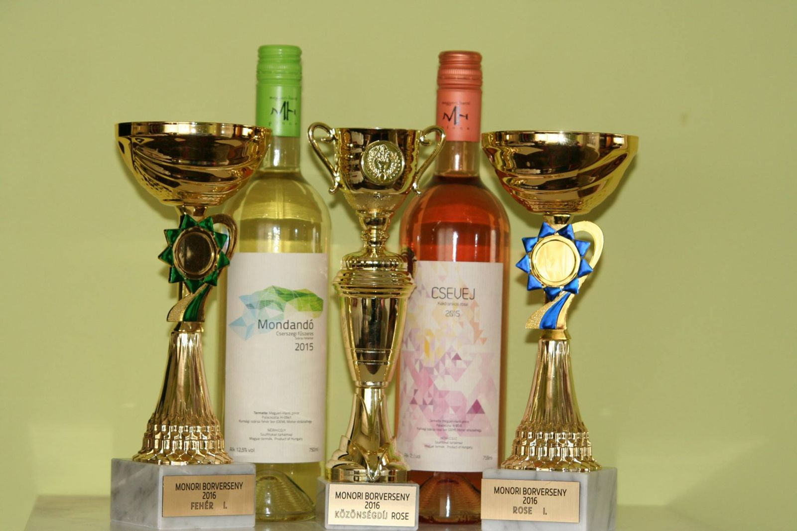 Nemzetközi versenyen is aranyérmes bor nyerte a Monor Város Bora 2016 címet