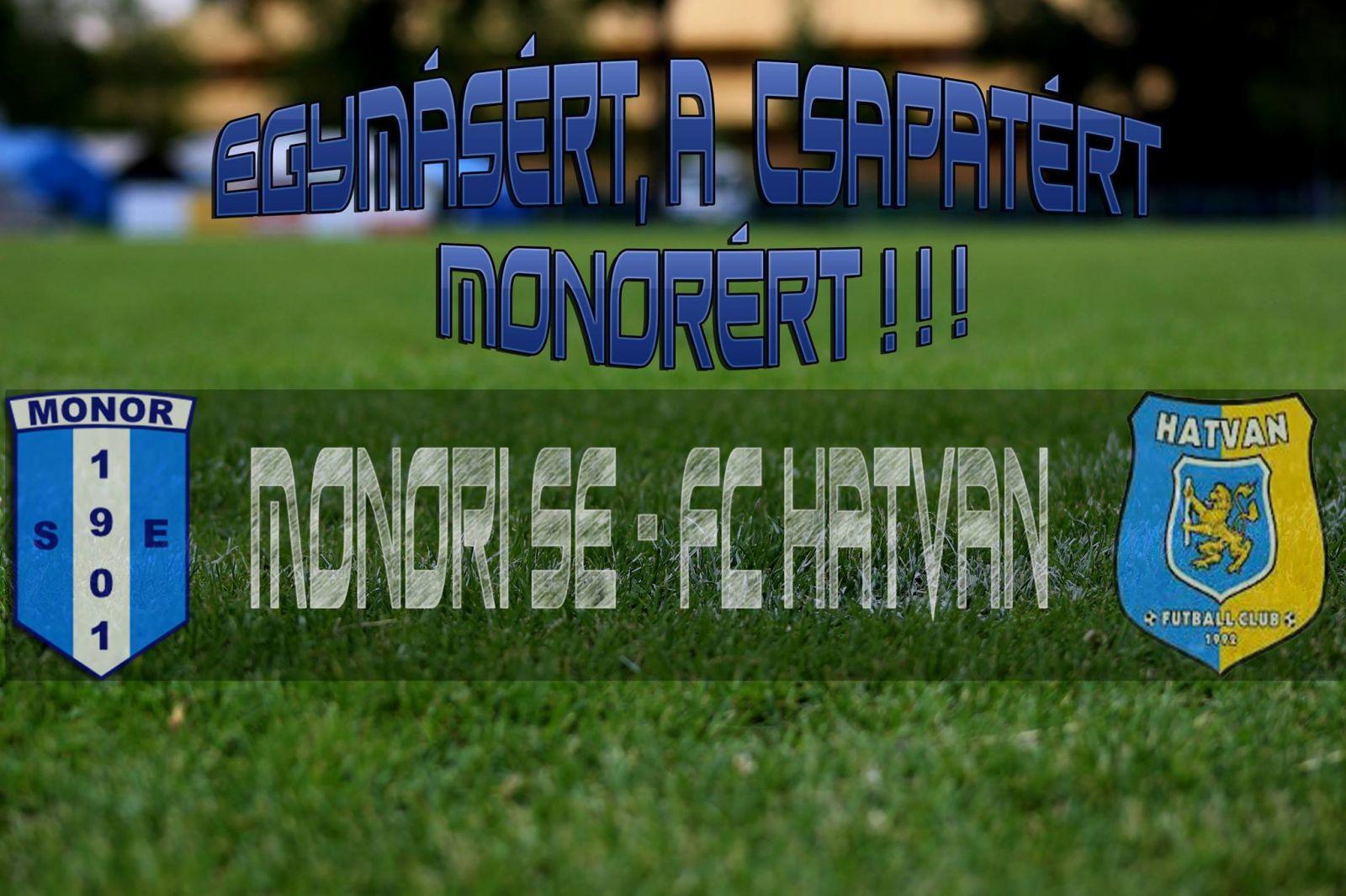 Ismét hazai pályán játszik a Monori SE labdarúgó csapata