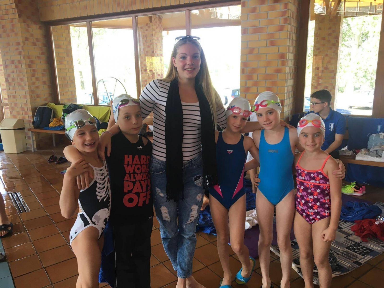 A monori Bokros Blanka remekül szerepel a rövidpályás úszó országos bajnokságon