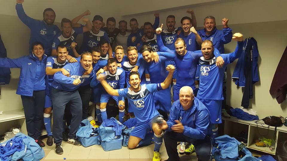 Remek idegenbeli győzelemmel, továbbra is listavezető az NBIII-as labdarúgó csapatunk