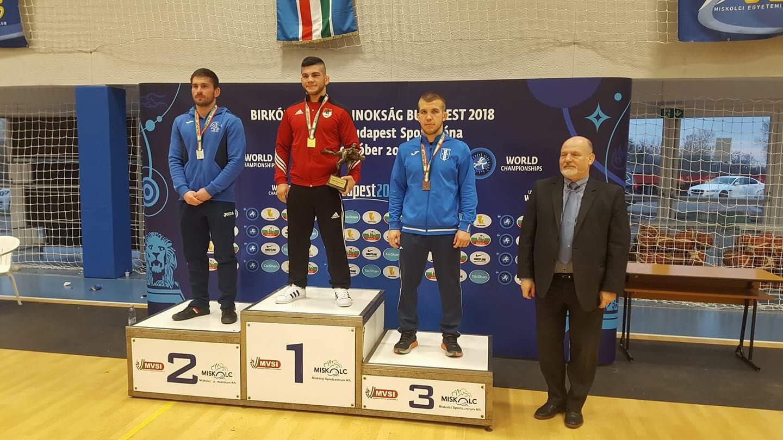 Monori bronzérem a felnőtt birkózó országos bajnokságon