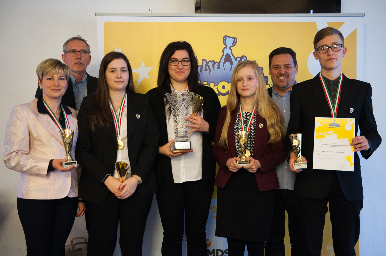 A monori József Attila Gimnázium csapata nyerte a Mező Ferenc Szellemi Diákolimpia döntőjét