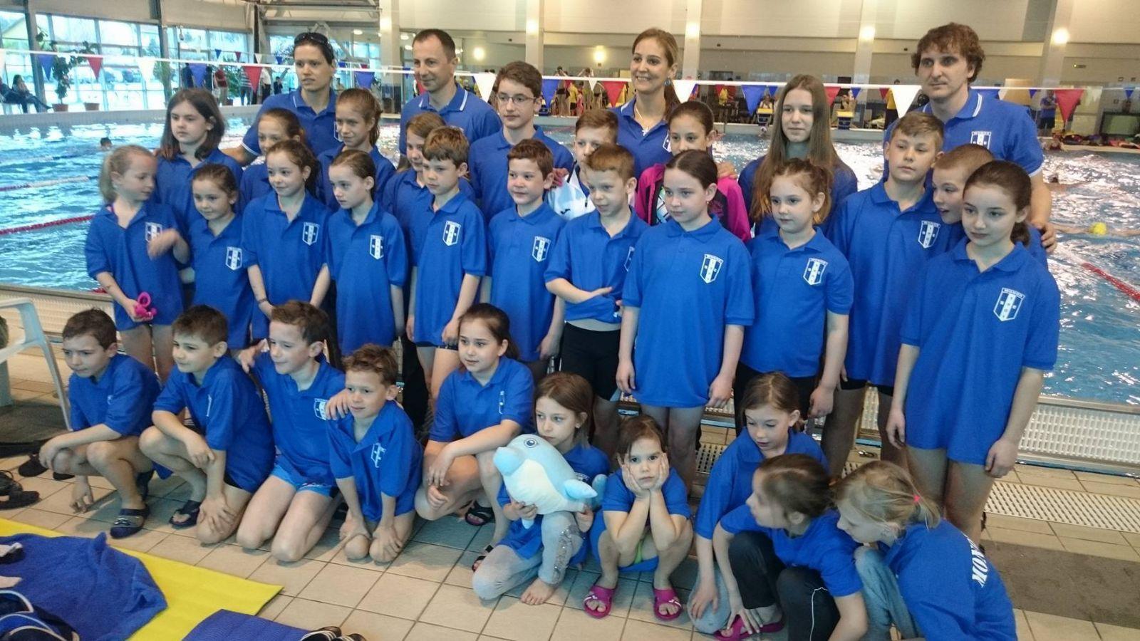 Monori éremeső a Pest megyei úszó csapatbajnokságon